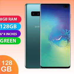 Image of Used As Demo Samsung Galaxy S10 Plus Dual SIM 128GB 4G LTE 8GB RAM Smartphone Prism Green (6 month warranty + 100% genuine)