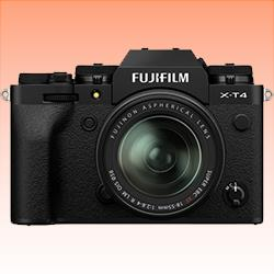 Image of New Fujifilm X-T4 Kit 18-55 Digital Camera Black