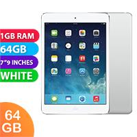 Image of Used as demo Apple iPad Mini 2 64GB Wifi + Cellular Silver/White (6 month warranty + 100% Genuine)