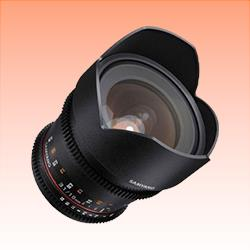 Image of New Samyang 10mm T3.1 ED AS NCS CS VDSLR II Lens for Canon