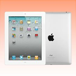Image of Used as demo Apple iPad 2 16GB Wifi + Cellular White (6 month warranty + 100% Genuine)