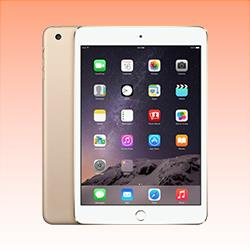 Image of Used as demo Apple iPad Mini 3 128GB Wifi + Cellular Gold (6 month warranty + 100% Genuine)