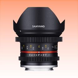 Image of New Samyang 12mm T2.2 Cine NCS CS Lens for M4/3