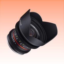 Image of New Samyang 12mm T2.2 Cine NCS CS Lens for Fuji X
