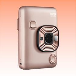 Image of New Fujifilm instax mini LiPlay Camera Blush Gold
