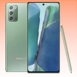 Image of New Samsung Galaxy Note 20 256GB 8GB RAM 5G LTE Smartphone Mystic Green