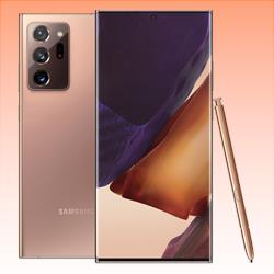 Image of New Samsung Galaxy Note 20 Ultra 256GB 12GB RAM 5G LTE Smartphone Mystic Bronze