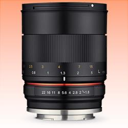 Image of New Samyang 85mm f/1.8 ED UMC CS Lens for Canon M