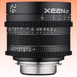 Image of New Samyang Xeen CF 24mm T1.5 Lens for Sony E