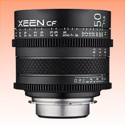 Image of New Samyang Xeen CF 50mm T1.5 Lens for Canon