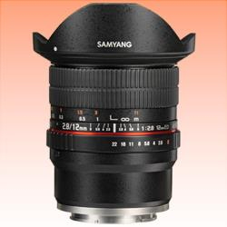 Image of New Samyang 12MM F/2.8 ED AS NCS Fisheye Lens for Sony E
