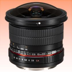 Image of New Samyang 12MM F/2.8 ED AS NCS Fisheye Lens for Canon