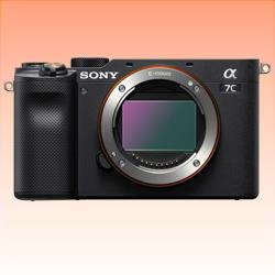 Image of New Sony Alpha A7C Mirorless Digital SLR Camera Body Black