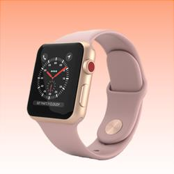 Image of Used as Demo Apple Watch 3 Aluminium 38 mm Rose Gold (6 month warranty + 100% Genuine)
