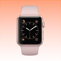 Image of Used as Demo Apple Watch 1 Aluminium 38mm Rose Gold (6 month warranty + 100% Genuine)