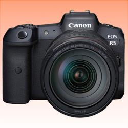 Image of New Canon EOS R5 Kit (RF 24-105mm F/4L) Camera (With Adapter)