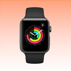 Image of Used as Demo Apple Watch 2 Aluminium 38mm Black (6 month warranty + 100% Genuine)