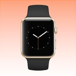 Image of Used as Demo Apple Watch 2 Aluminium 38mm Gold (6 month warranty + 100% Genuine)