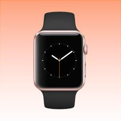 Image of Used as Demo Apple Watch 2 Aluminium 42mm Rose Gold (6 month warranty + 100% Genuine)