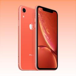 Image of Used as Demo Apple iPhone XR 4G LTE 128GB Coral (6 month warranty + 100% Genuine)