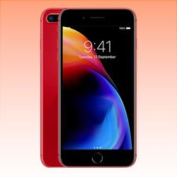 Image of Used Like New Apple iPhone 8 Plus 4G LTE 64GB Red (6 MONTHS WARRANTY + 100% GENUINE)