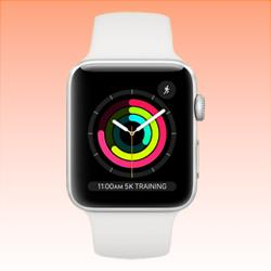 Image of Used as Demo Apple Watch 3 Aluminium 38mm Silver Cellular (6 month warranty + 100% Genuine)