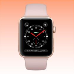 Image of Used as Demo Apple Watch 3 Aluminium 42mm Rose Gold Cellular (6 month warranty + 100% Genuine)