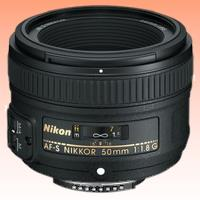 Image of New Nikon AF-S NIKKOR 50mm f/1.8G Lens