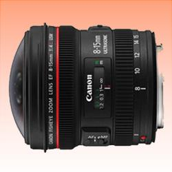 Image of New Canon EF 8-15mm f/4L Fisheye USM Ultra-Wide Zoom Lens