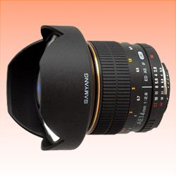 Image of New Samyang AE 14mm f/2.8 ED AS IF UMC Aspherical Lens For Nikon