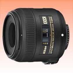 Image of New Nikon AF-S DX Micro NIKKOR 40mm f/2.8G lens