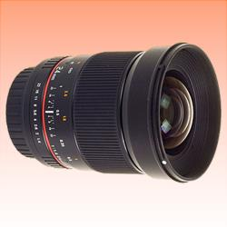 Image of New Samyang 24 mm f/1.4 ED AS UMC for Canon Lens