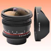 Image of New Samyang 8mm T3.8 Asph IF MC Fisheye CS VDSLR Lens for Nikon
