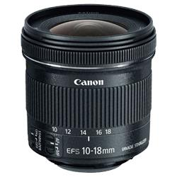 Image of New Canon EF-S 10-18mm f/4.5-5.6 IS STM Lens