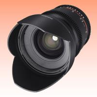 Image of New Samyang 16mm T2.2 ED AS UMC CS II VDSLR (Canon)