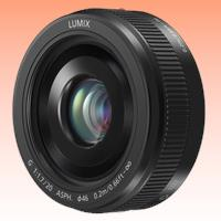 Image of New Panasonic LUMIX G 20mm f/1.7 II ASPH. Lens Black