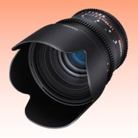 Image of New Samyang 50mm T1.5 AS UMC Cine Lens for Sony E