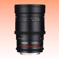 Image of New Samyang 135mm T2.2 ED UMC VDSLR Cine Lens for Canon