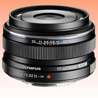 Image of New Olympus M.ZUIKO ED 17mm f/1.8 Lens Black