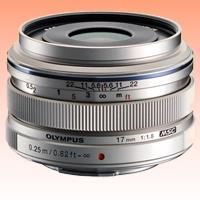 Image of New Olympus M.ZUIKO ED 17mm f/1.8 Lens Silver