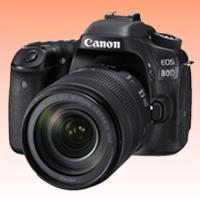 Image of New Canon EOS 80D 24.2MP Kit (18-135mm) Digital Cameras