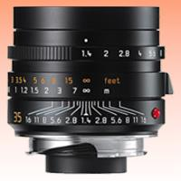 Image of New Leica SUMMILUX-M 35mm f/1.4 ASPH Lens Black
