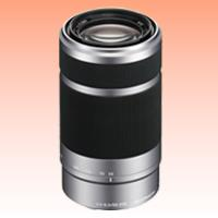 Image of New Sony E 55-210mm F4.5-6.3 OSS Silver Lens