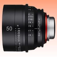 Image of New Samyang Xeen 50mm T1.5 Lens for Canon