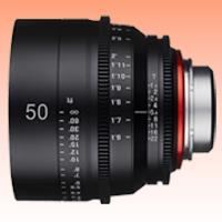 Image of New Samyang Xeen 50mm T1.5 Lens for Sony