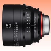 Image of New Samyang Xeen 50mm T1.5 Lens for PL Mount