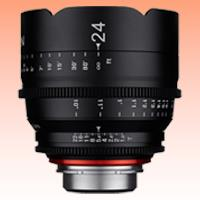 Image of New Samyang Xeen 24mm T1.5 Lens for PL Mount
