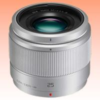 Image of New Panasonic Lumix G 25mm F1.7 ASPH Lens Silver