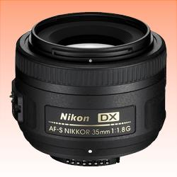 Image of New Nikon NIKKOR AF-S 35mm f/1.8G F1.8 G DX