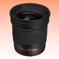 Image of New Samyang 16mm f/2.0 ED AS UMC CS (Canon)